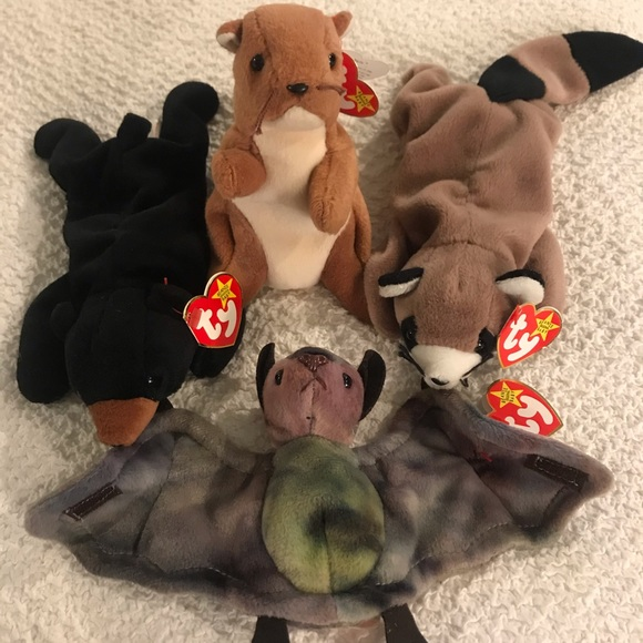 Other - TY Beanie Babies Forest Critter Bundle